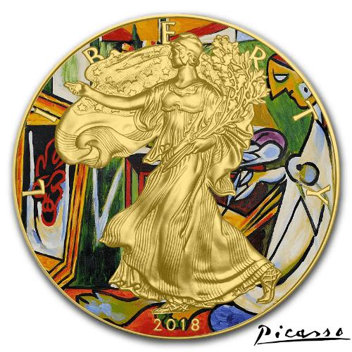 La Muse Picasso Classic Art Collection 2018 1 Oz