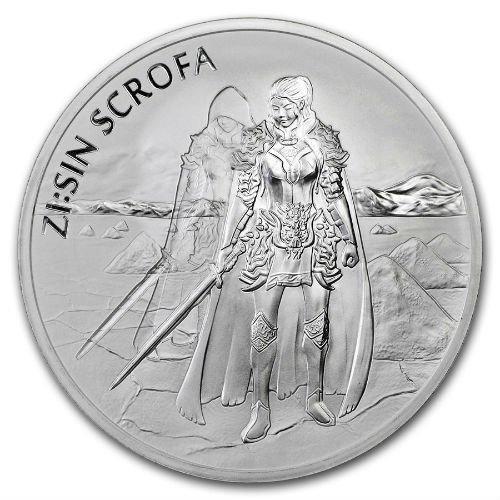 2019 1oz Silver South Korea ZISIN SCROFA Set of 3 coins