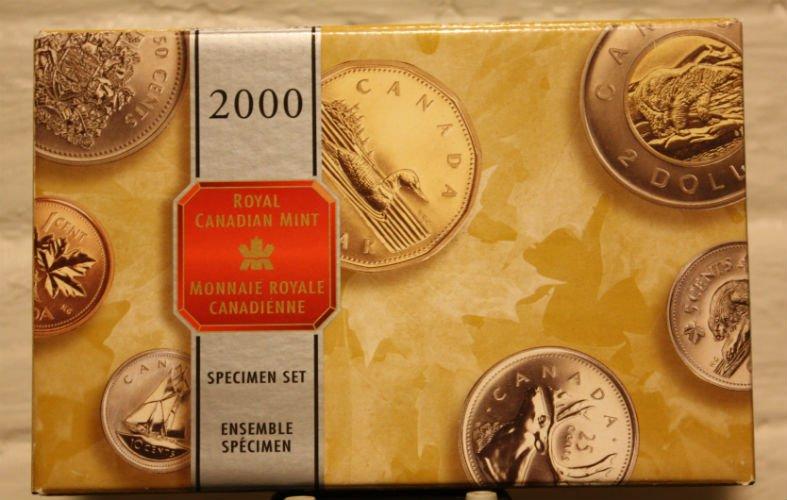 2000 7 Coin Specimen Set - Royal Canadian Mint - The Coin Shoppe