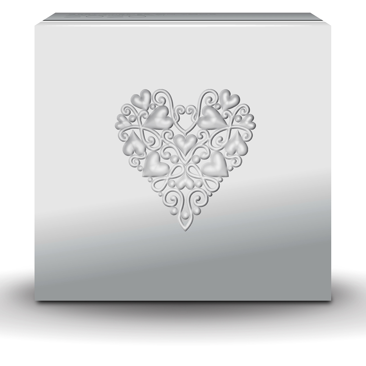 Wedding 2020 1oz Silver Proof Coin: BEST WISHES ON YOUR WEDDING DAY!