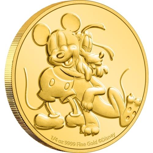 2020 Niue Disney Mickey /& Pluto 1 Ounce Pure Silver .999 Coin!